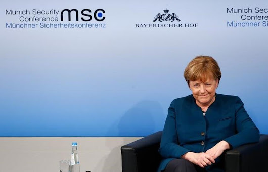 Merkel suggests euro is too low for Germany