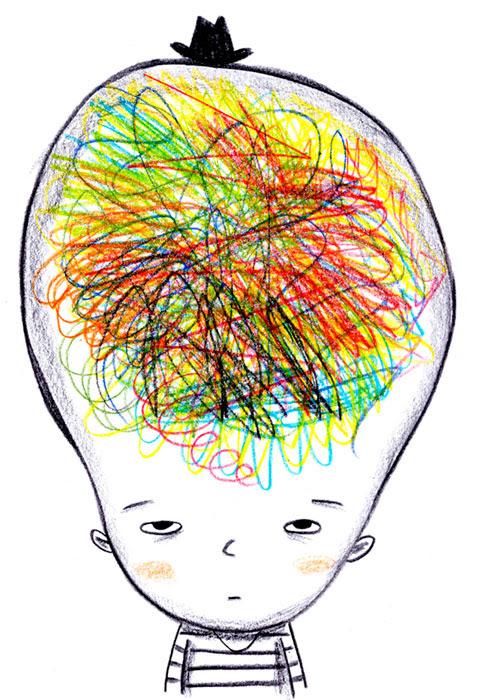 Messy brain