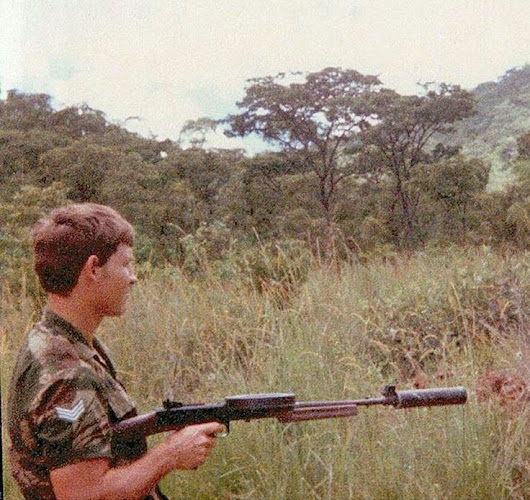 Stille Vuurkrag:-Documented Combat Usage of the American-180 by SADF/Rhodesian SAS - The Firearm Blog