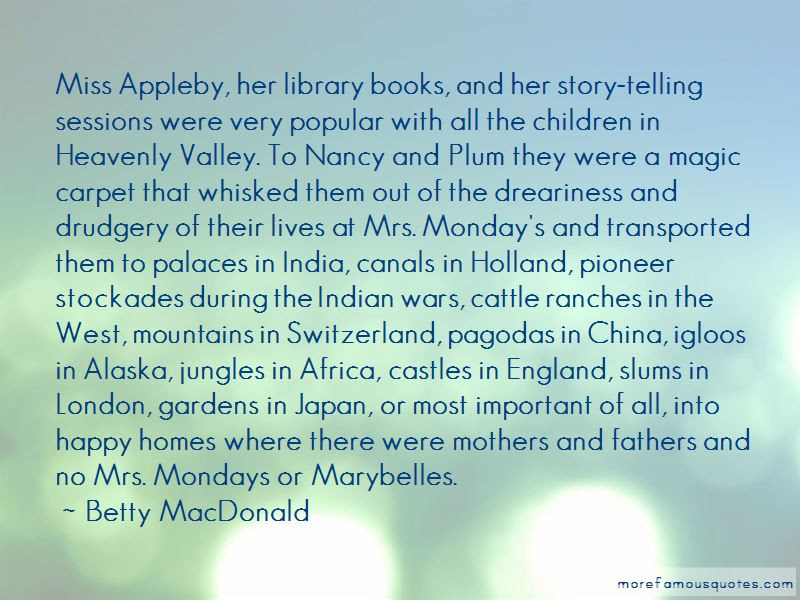 Image result for Betty MacDonald mother quote