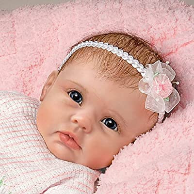 "So Truly Real ""Olivia's Gentle Touch"" Lifelike Baby Girl Doll By Linda Murray from The Ashton-Drake Galleries"