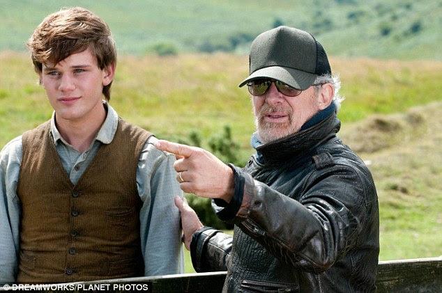 Legendary: Steven Spielberg shooting War Horse in Wiltshire with Jeremy Irvine