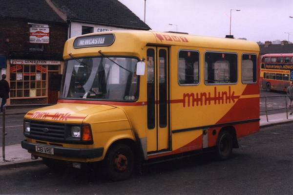 1986 Ford transit minibus 190D number 161, C161VRE