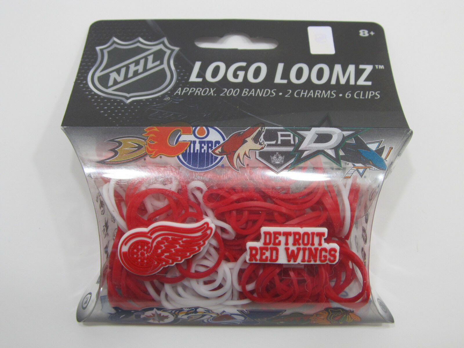 Nhl Detroit Red Wings Logo Loomz Charm Filler Pack By Forever