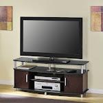 """Altra Furniture Carson 50"""" TV Stand in Cherry - 1195196"""