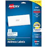 Avery Legal Index Side Tab 100 8-1/2 X 11 25 Per Pack 1/25 Cut (82298)