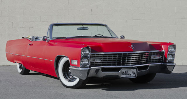 Cadillac DeVille Convertible 1967 Red For Sale. F1718796 ...
