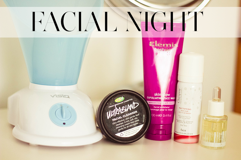 facial night