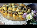 Middle Eastern stuffed potatoes (batata mahshieh bel lahem)