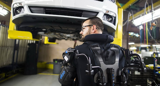 Ford Factory Workers Reduce Fatigue With Wearable Exoskeleton Vest | Carscoops