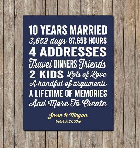 Emejing Ideas for 10th Wedding Anniversary Styles & Ideas