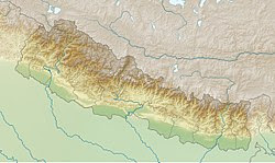 2015 Nepal earthquake is located in Nepal