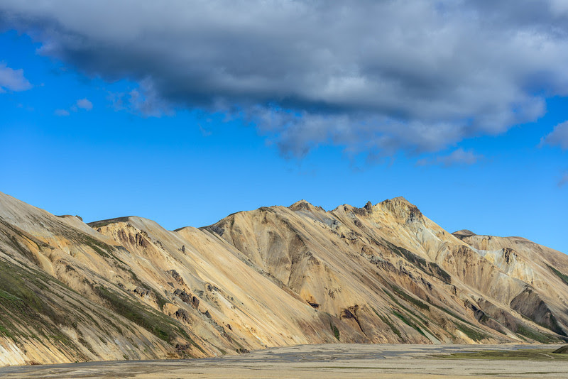 Clouds and mountains, Landmannalaugar