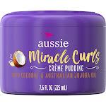 Aussie Miracle Curls Leave-In Cream Pudding - 7.6 fl oz
