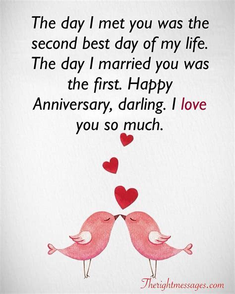 23 Best Wedding Anniversary Wishes & Messages   The Right