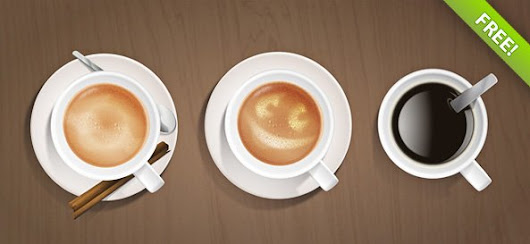 Coffee Cups PSD Graphic - 365psd