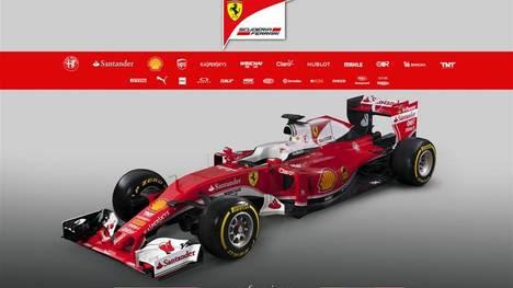 """m02 MARANELLO (ITALIA), 19/02/2016.- Fotografía facilitada hoy, 19 de febrero de 2016, por la Oficina de Prensa de la escudería Ferrari, que muestra el nuevo modelo """"SF16-H"""" para la temporada 2016 en Maranello, Italia. EFE/OFICINA DE PRENSA DE FERRARI/COLOMBO/ SÓLO USO EDITORIAL/PROHIBIDA SU VENTA"""