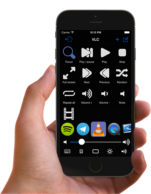 FullControl - The best iOS app for remote control