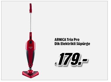 ARNICA Tria Pro Dik Elektrikli Süpürge 179TL