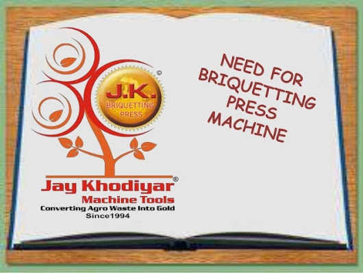 Briquetting Press Machines - Latest Briquetting Technology