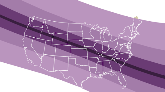 A solar eclipse is coming in August. Here's what it will look like where you are.