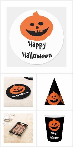 Cute Pumpkin Halloween Party  Accessories