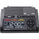 Midland - Desktop Weather Alert Radio - Black