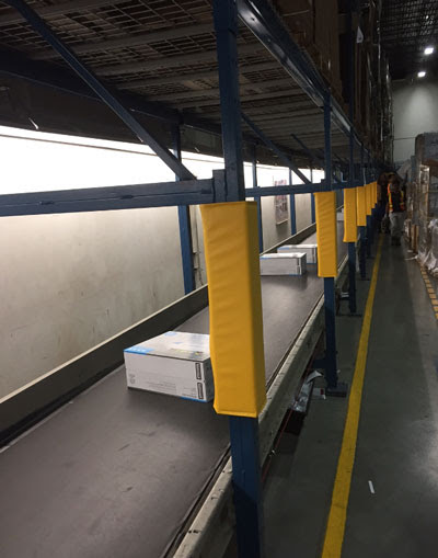 Column Padding for Ingram Micro's West Coast Distribution Centre