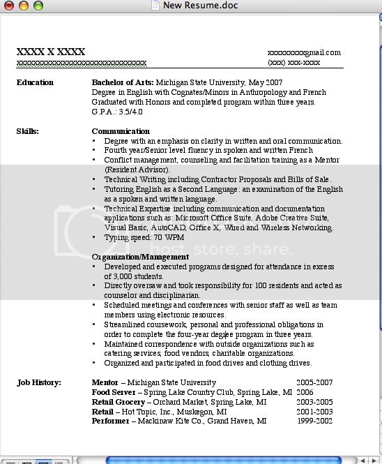 Resume Examples The Muse