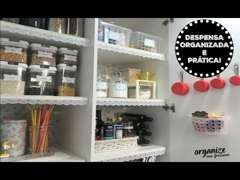Organização é essencial