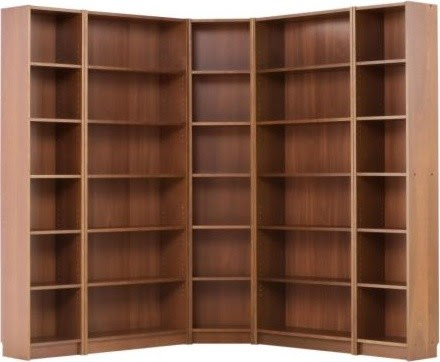 BILLY Corner combination - modern - storage units and cabinets