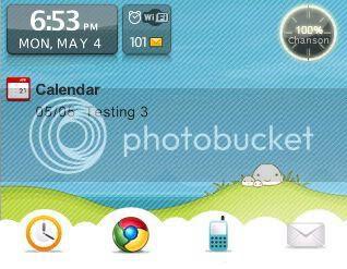 qsky Theme đẹp dành cho BlackBerry 83xx và 87xx