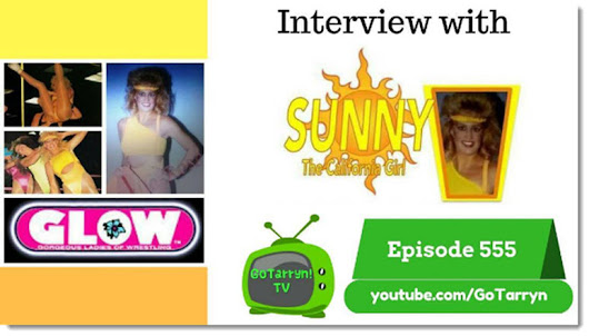 GLOW Girl Sunny Interview with Tarryn and Todd