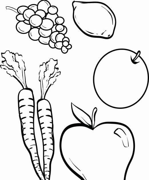 Cornucopia Vegetable Coloring Pages - Coloring Pages Ideas