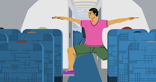 Stretches and Exercises You Should Do Before, During, and After a Flight