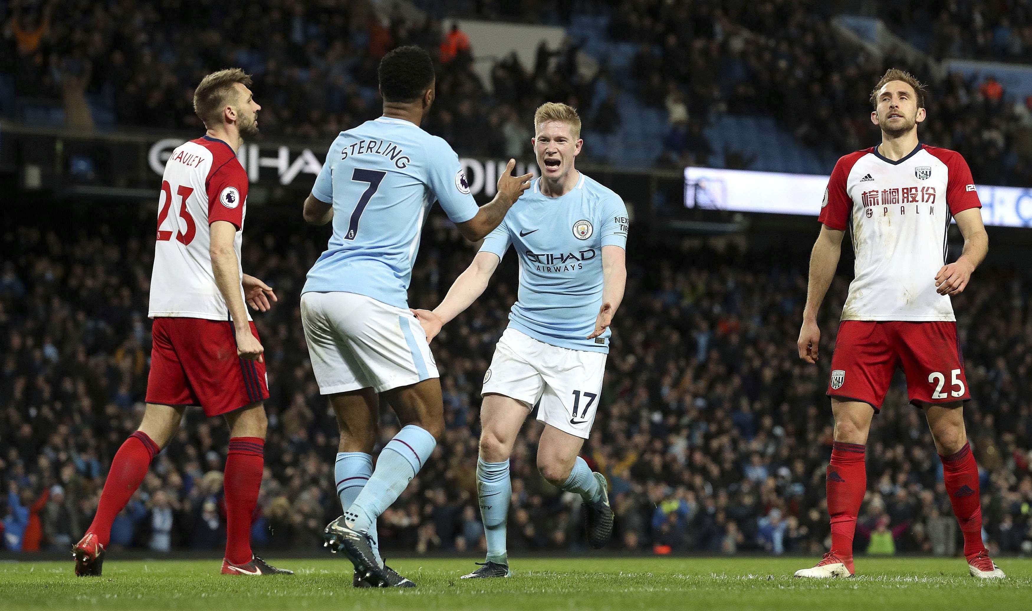Manchester City scores 100th goal of season in 3-0 win Vs ...