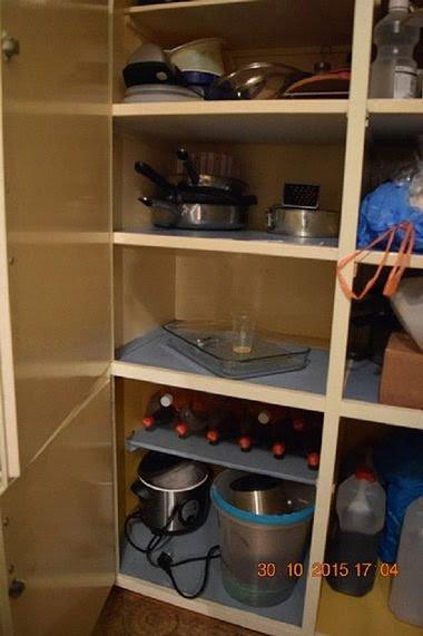Utstyr som skal ha blitt brukt til å lage narkotika, ifølge politiet. FOTO: POLITIET
