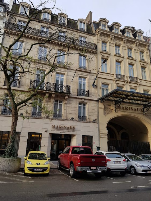 Marivaux Hotel, Brussels review - Caveman Reviews