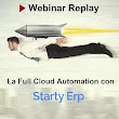 Richiedi Registrazione del Webinar - La Full Cloud Automation con Starty ERP