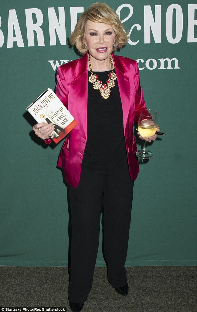 Her home has a new owner: Joan Rivers sold her NYC penthouse in July for $28 million to a Middle Eastern  prince; here she is pictured in June 2014, just three months before she died at the age of 81