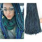 Costbuys Hair-Extensions Braids Crochet Dreadlocks Aberration Havana Mambo Faux-Locs Synthetic African Synthetic Hair Extensions