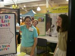 Iowa State Fair - GoLocal booth