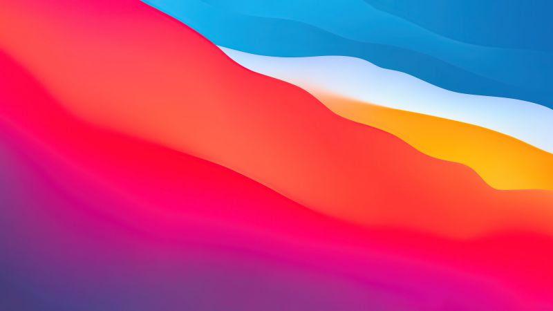 Macos Big Sur Wallpaper 4k Apple Layers Fluidic Colorful Wwdc Stock Gradients 1455