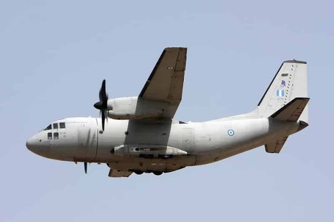 Πολεμική Αεροπορία -κοροναϊός: Με C-27 επέστρεψαν οι δυο Έλληνες από την Ουχάν...
