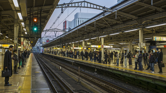 After Tokyo Commuter Train Leaves 20 Seconds Early, Company Apologizes : The Two-Way : NPR