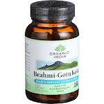Organic India Organic Brahmi Gotu Kola - 90 Vegetarian Capsules