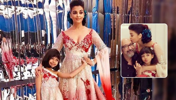 Aaradhya Bachchan Aces The Pout Game As She Poses With Mother Aishwarya