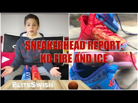 Sneakerhead Report: KD FIRE AND ICE – My New Favorite Basketball Sneakers
