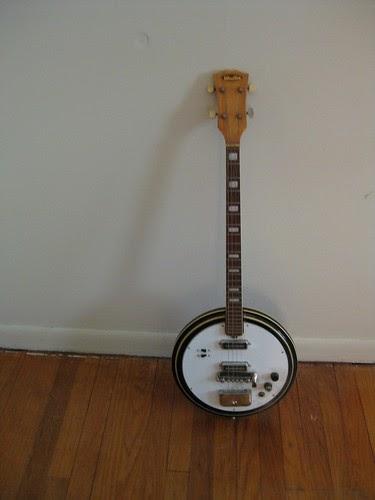 Humble Baritonics Winston Electric Tenor Banjo