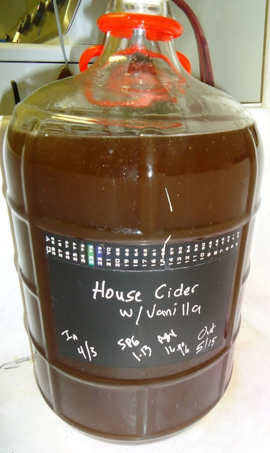04 APR 15 - House Cider with Some Tweaks